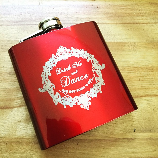 Red Hot Flask: Drink Me and Dance